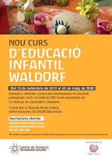 Formació en Educació Infantil Waldorf a Barcelona