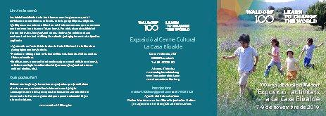 Jornades pel Centenari Waldorf-Steiner a la Casa Elizalde de Barcelona