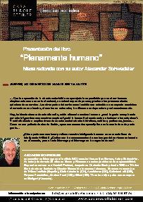 Presentación del libro PLENAMENTE HUMANO
