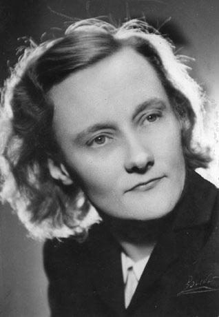 Astrid Lindgren de joven