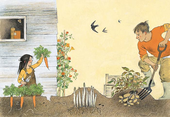 Cómo crece mi jardín. Gerda Muller
