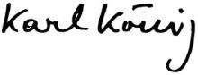 Firma de Karl König