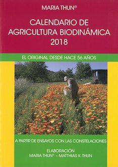 Calendario de agricultura biodinámica 2018