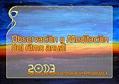 Observación y Meditación del ritmo anual (2013)