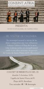 Concert del Conjunt ATRIA, Ensemble de Música Antiga de Barcelona