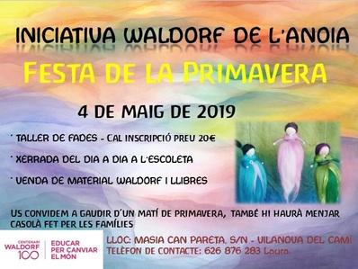 Festa de la primavera a l'Iniciativa Waldorf de l'Anoia