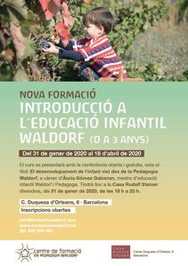 Introducció a l?educació infantil Waldorf a la Casa Rudolf Steiner de Barcelona