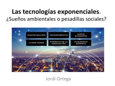 Mesa redonda sobre Tecnologías Exponenciales