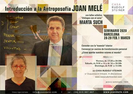 Seminario de introducción a la Antroposofía. Joan Melé